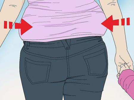 mo26708 اصول ست کردن لباس برای کسانی که شکم بزرگ و پهلو دارند