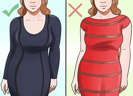 mo26712 اصول ست کردن لباس برای کسانی که شکم بزرگ و پهلو دارند