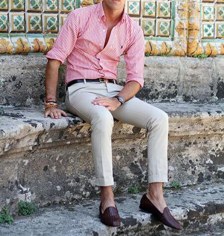 لباس پوشیدن آقایان در تابستان,راهنمای لباس پوشیدن آقایان در تابستان
