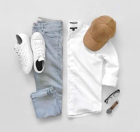 تکنیک های لباس پوشیدن آقایان در تابستان,بهترین ست لباس تابستانه ی مردانه