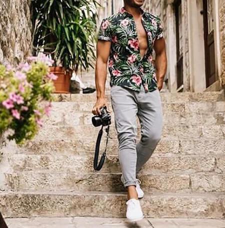 ست لباس مردانه, ست های لباس مردانه در تابستان