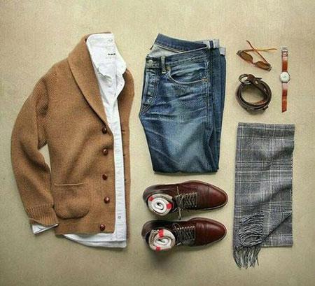 ست لباس مجلسی مردانه,جدول ست رنگ لباس مردانه