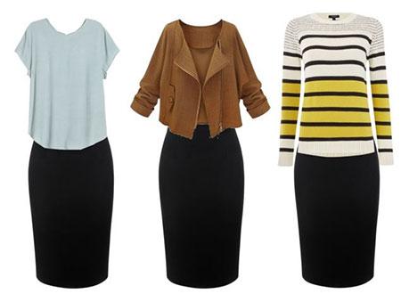 چه لباسی بپوشیم که لاغر به نظر برسیم,چه لباسی بپوشیم تا لاغر به نظر برسیم