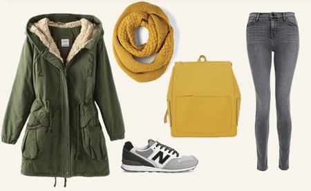 با کتونی چه مانتویی بپوشم,نحوه ست کردن لباس با کفش کتانی