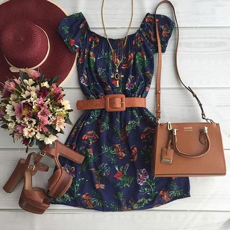 ایده هایی برای ست های لباس تابستانی,لباس های شیک تابستانه