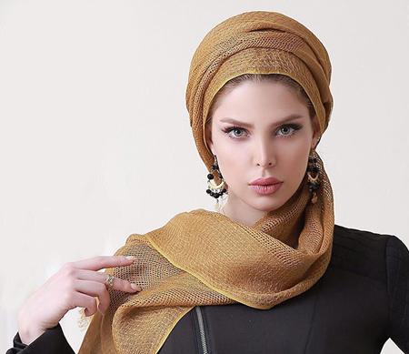 مدل بستن شال,مدل بستن شال و روسری