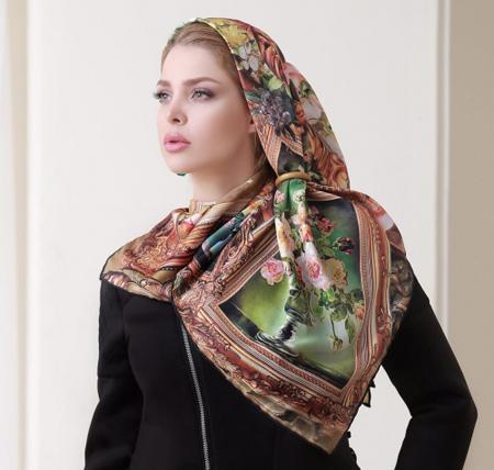 بستن روسری مجلسی,مدل بستن روسری