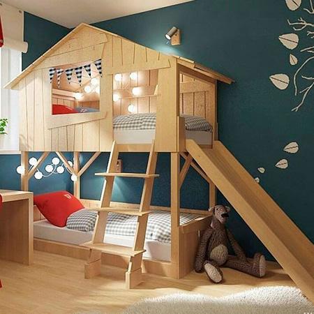 تختخواب بچه گانه,تخت دو طبقه بچه گانه
