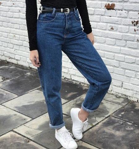 mom3 style pants13 شلوار مام استایل چیست؟ + مدل های شلوار مام استایل