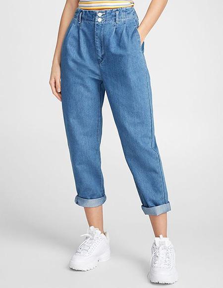 mom3 style pants15 شلوار مام استایل چیست؟ + مدل های شلوار مام استایل