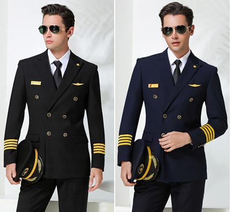 passenger3 pilot uniform7 ویژگی های لباس فرم خلبانی مسافربری + عکس