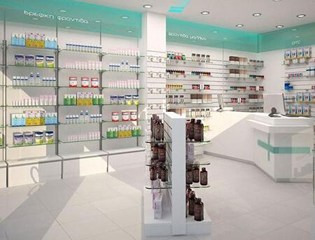 دکوراسیون های داروخانه های جدید, طراحی داروخانه, طراحی و چیدمان داروخانه