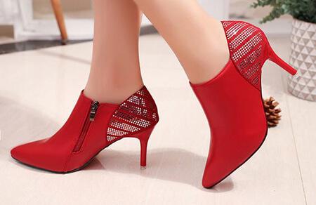 مدل های کفش قرمز زنانه,مدل کفش قرمز