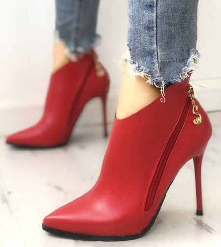 مدل کفش قرمز, مدل های کفش قرمز