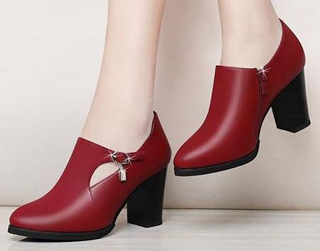 مدل کفش قرمز دخترانه,مدل های کفش قرمز