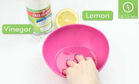 پاک کردن لاک ناخن با خمیردندان, پاک کردن لاک ناخن با آب اکسیژنه, پاک کردن لاک ناخن