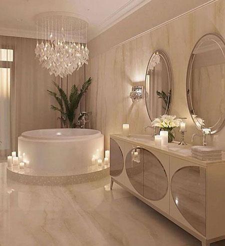 طراحی شیک ترین مدل حمام و دستشویی,سرویس بهداشتی