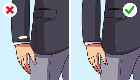 راهنمای لباس پوشیدن, تکنیک های لباس پوشیدن