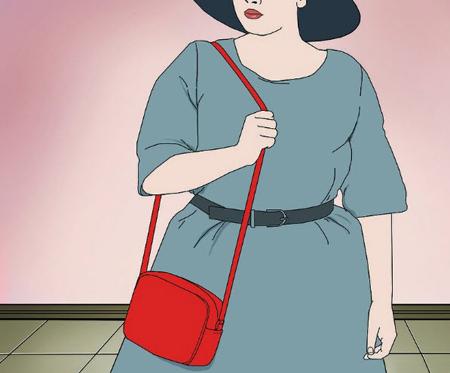 set1 big belly2 اصول ست کردن لباس برای کسانی که شکم بزرگ و پهلو دارند