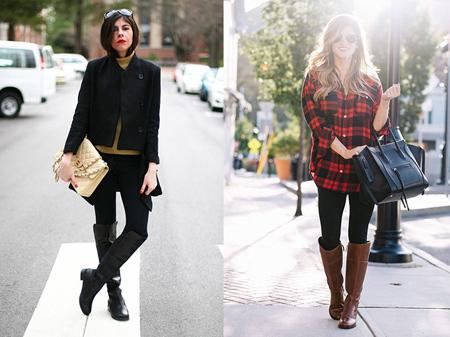 نکاتی برای پوشیدن چکمه,تکنیک های پوشش شلوار جین