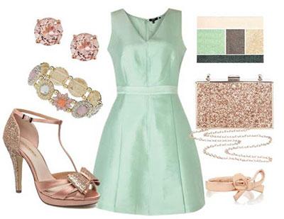 shoes2 mint green clothes1 بهترین رنگ کفش با لباس های سبز نعنایی
