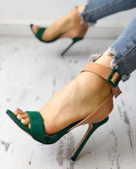 کفش تابستانی پاشنه دار,کفش تابستانی