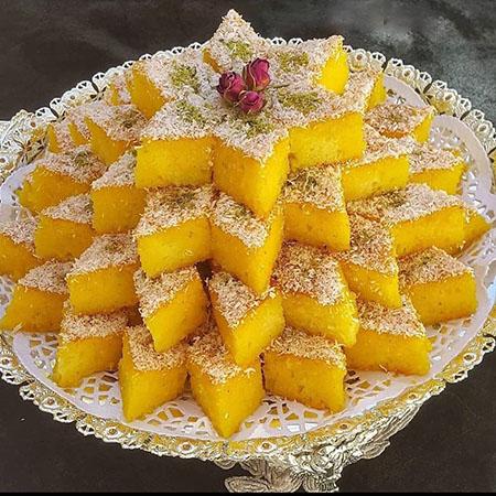 کیک باقلوا, کیک شربتی ترکیه, کیک شربتی شیرازی