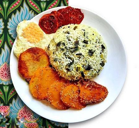 والک پلو با ماهی, والک پلو مجلسی, طرز تهیه والک پلو با مرغ