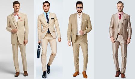 ست لباس با شلوار کرم, شیک پوشی با شلوار خاکی