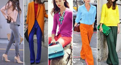 اصول ست کردن لباس,آشنایی با ست کردن بهترین رنگ ها