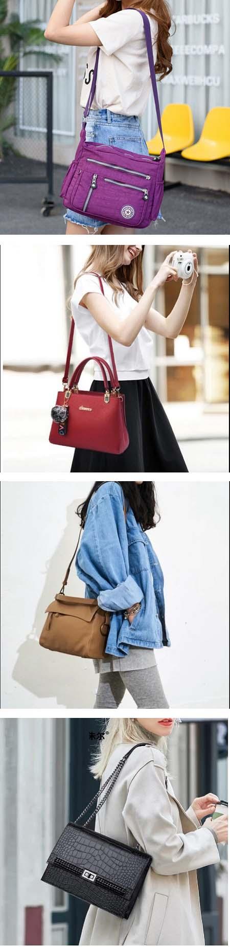 کیف دوشی زنانه, کیف دوشی زنانه چرمی, کیف دوشی زنانه مدل سرخپوستی