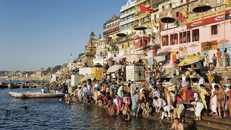 رسوم بنارس هند, مراسم مذهبی هندویان در بنارس, رود گنگ بنارس