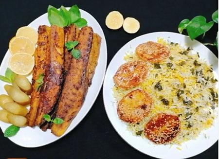 پختن ماهی شوریده, روش پخت ماهی شوریده, طرز پخت ماهی شوریده سفید