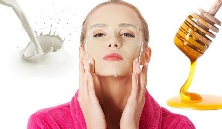 پاکسازی پوست با ماسک شیر و عسل, ماسک شیر و عسل برای پوست خشک, ماسک شیر و عسل