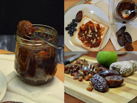 مربای خرما خانگی, روش های مصرف مربای خرما, مربای خرما طبیعی
