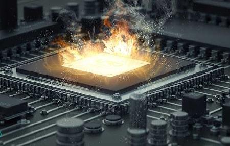داغ شدن cpu لپ تاپ, مشکل گرم شدن سی پی یو در ویندوز 10, نشانه های داغ شدن CPU