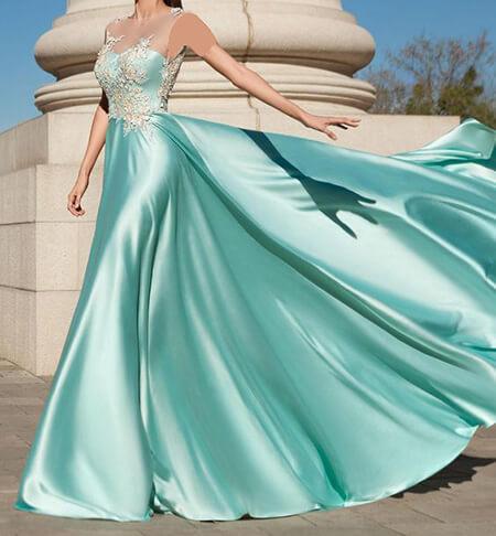 لباس مجلسی فیروزه ای رنگ,شیک ترین مدل لباس مجلسی فیروزه ای,مدل های لباس مجلسی فیروزه ای