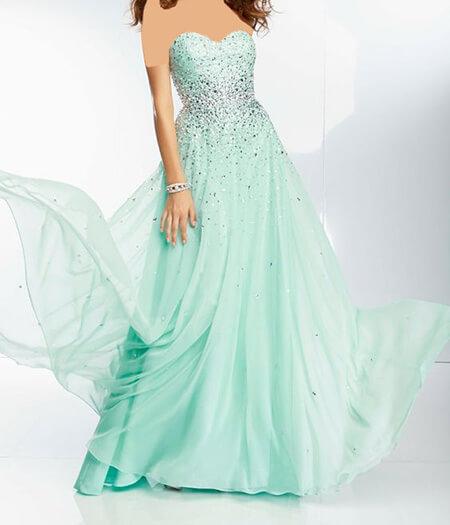 مدل لباس مجلسی فیروزه ای, شیک ترین مدل لباس مجلسی فیروزه ای, جدیدترین لباس مجلسی فیروزه ای