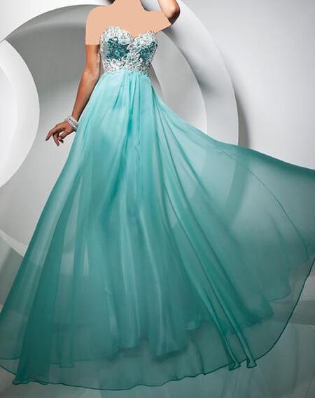 لباس مجلسی فیروزه ای,مدل لباس مجلسی فیروزه ای,جدیدترین لباس مجلسی فیروزه ای
