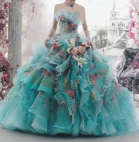 مدل لباس نامزدی فیروزه ای, مدل های شیک از لباس مجلسی فیروزه ای, ایده هایی برای لباس مجلسی فیروزه ای