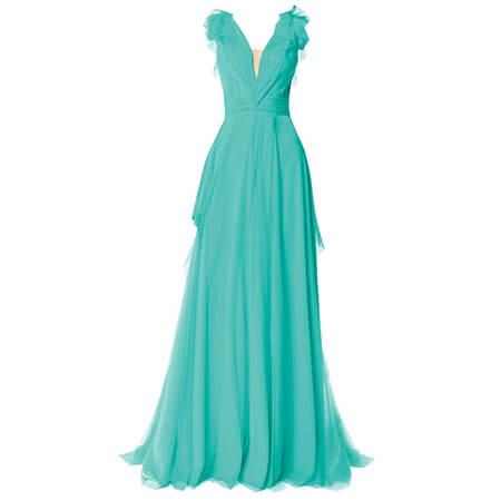 لباس مجلسی کوتاه به رنگ فیروزه ای,ایده هایی برای لباس مجلسی فیروزه ای,مدل لباس نامزدی فیروزه ای