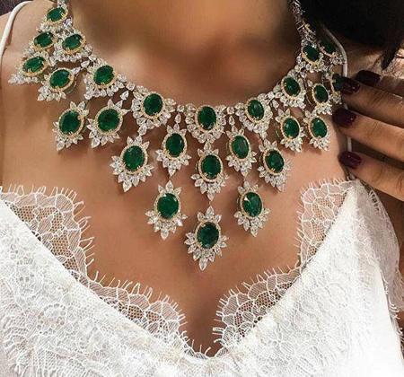 سرویس های شیک جواهر,مدل جواهرات