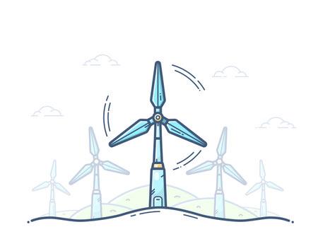 تولید برق در توربین بادی, توربین بادی چیست, انواع توربین های بادی
