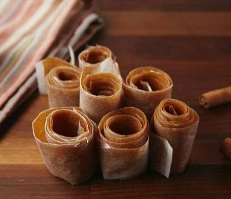 طرز تهیه لواشک سیب, طرز تهیه لواشک سیب در فر, لواشک سیب و پرتقال