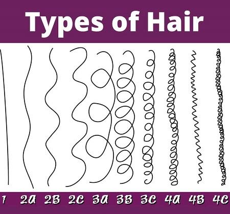 نژاد مو فرفری ها, انواع نژاد مو در انسانها, آشنایی با انواع نژاد مو