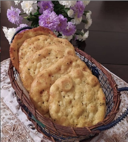 طرز تهیه نان روغنی زنجبیلی, نان روغنی مغزدار, تهیه نان روغنی