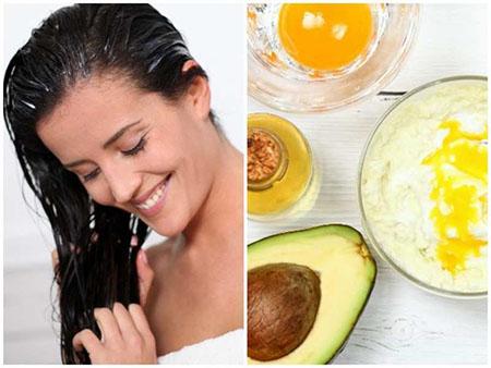 نحوه استفاده از ماسک موی آووکادو, ماسک آووکادو برای ریزش مو, طرز تهیه ماسک آووکادو برای مو