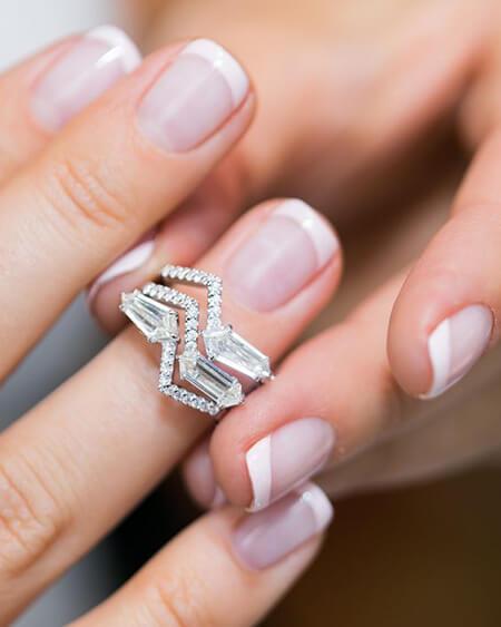 نمونه هایی از مدل انگشترهای برلیان, ایده هایی برای انگشترهای برلیان, مدرن ترین مدل انگشتر برلیان
