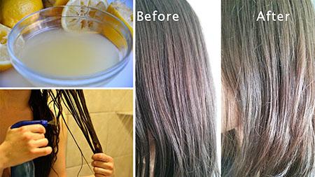 هایلایت طبیعی مو با عسل, هایلایت مو با مواد طبیعی, هایلایت مو