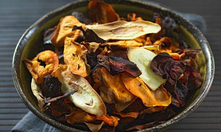 چیپس سبزیجات,چیپس سبزیجات چیست,طرز تهیه چیپس سبزیجات خانگی